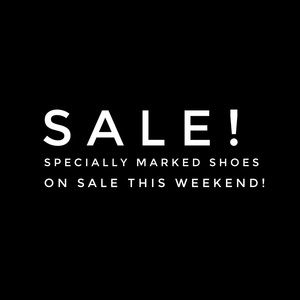 🔥Sale! Shoes! This Weekend Only!